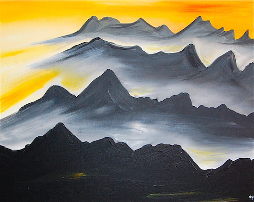 """""""Misty Mountains"""" by Eric Peters"""