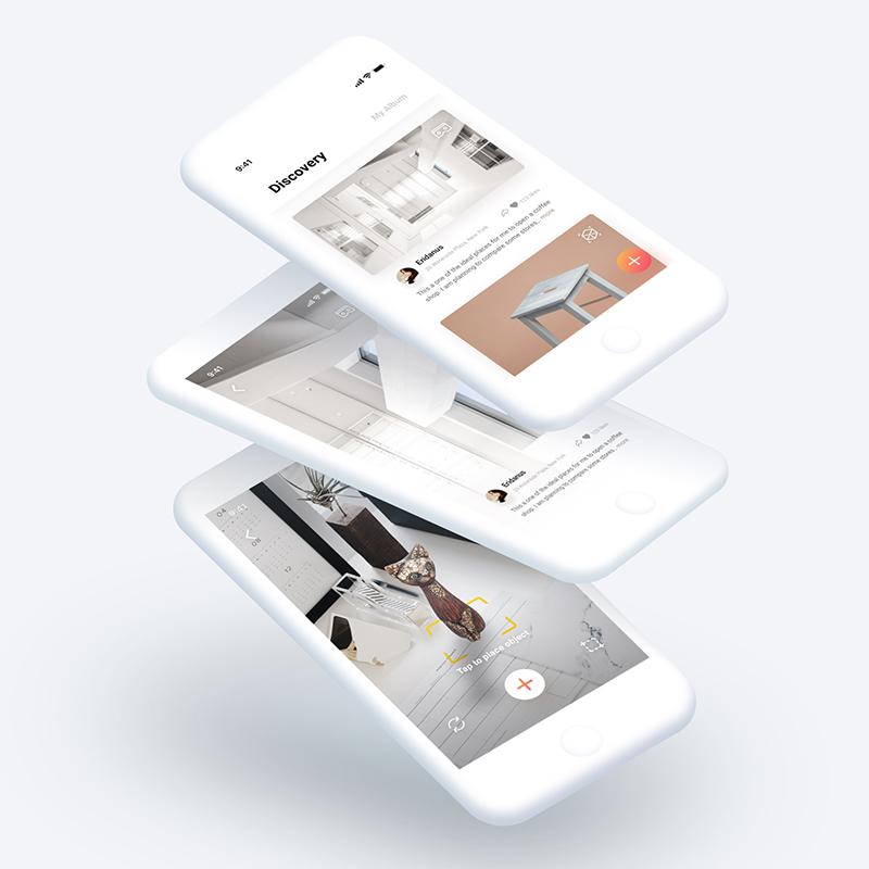 LIFESCAPE  Photogrammetry | App Design