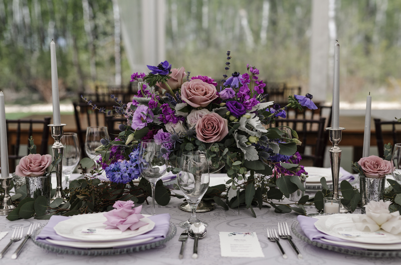 Planning & Coordination: Ashley Brooke Weddings   Venue: Cielo's Garden   Photography: Chantelle Dione Photography   Linens & Chargers: Planned Perfectly   Stationary: Keeks Paper Co.   Cake & Meringues: Sweet Impressions Bakery