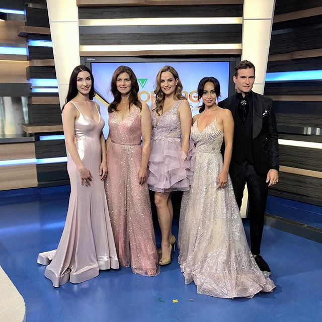 #FASHIONFRIDAY featuring these fabulous looks from @lacollectionbridal & @aldoformalwear. Tap the link in our bio to watch! We give some amazing pointers for outfit ideas for the upcoming Rosé Soirée! 🥂