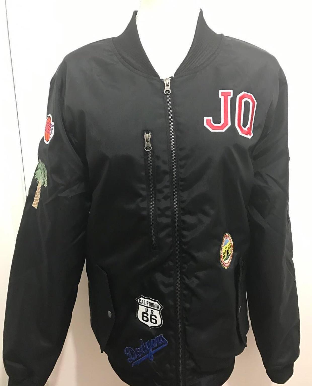 California themed bomber jacket for @jq_shotit -