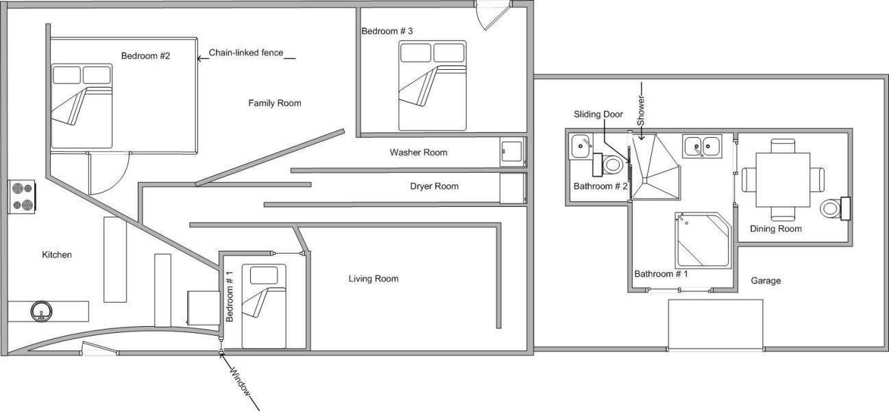 """""""The Worst Floor Plan Ever""""; via    Imgur"""