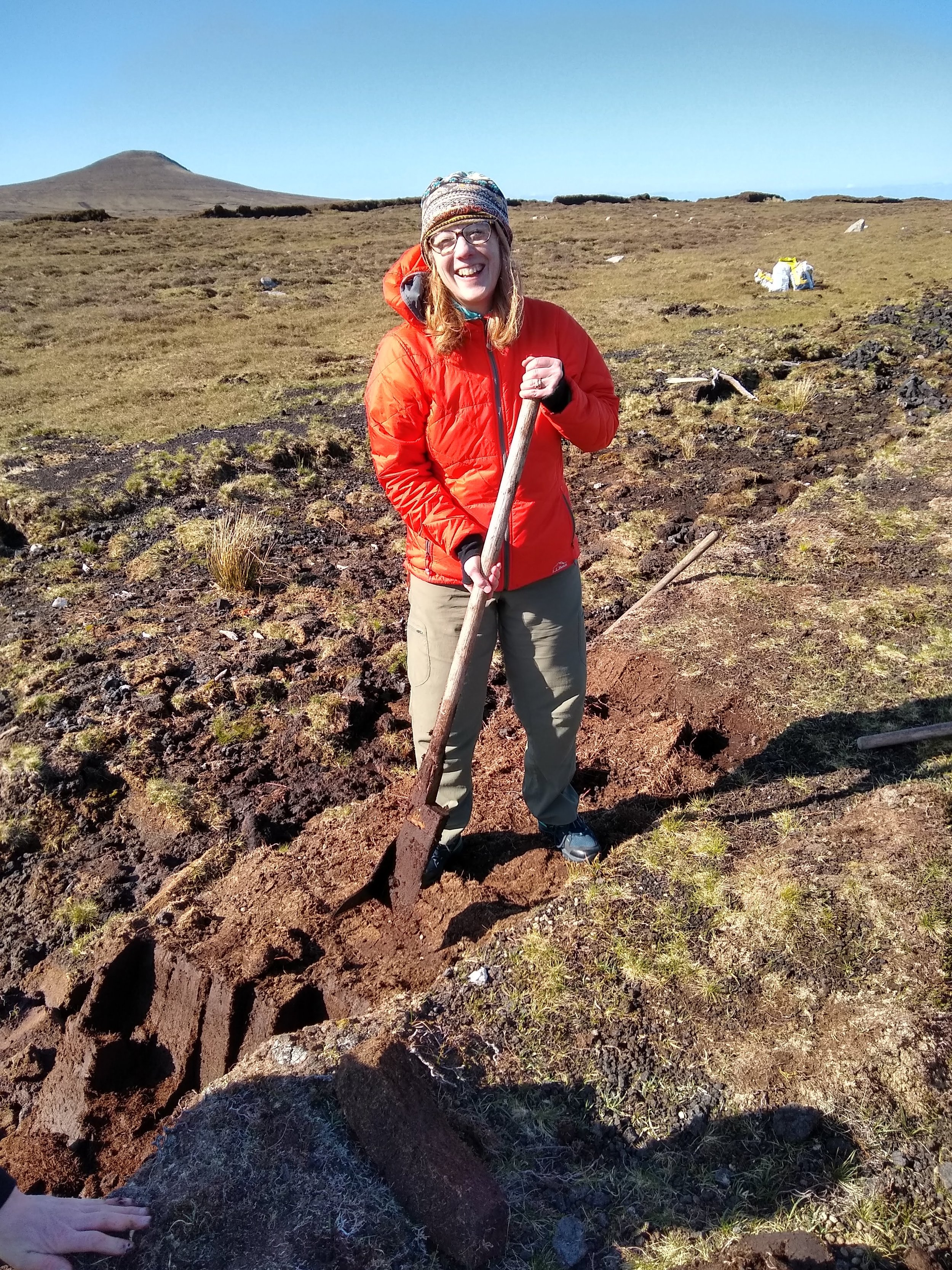 - Digging peat and being inspired, Belderrig, Co Mayo, Ireland