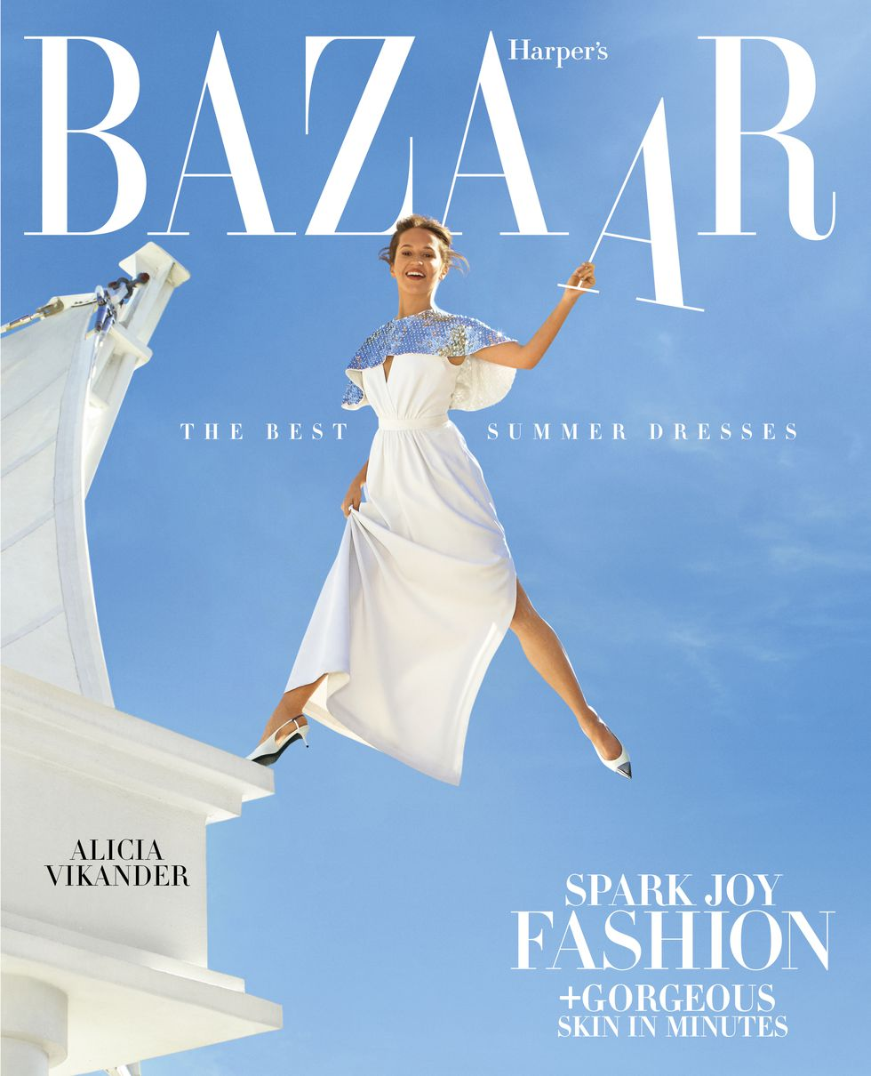 Harper's Bazaar Photoshoot - Alicia Vikander Leaps to New Heights—in Life and Fashion, Seth F. Johnson