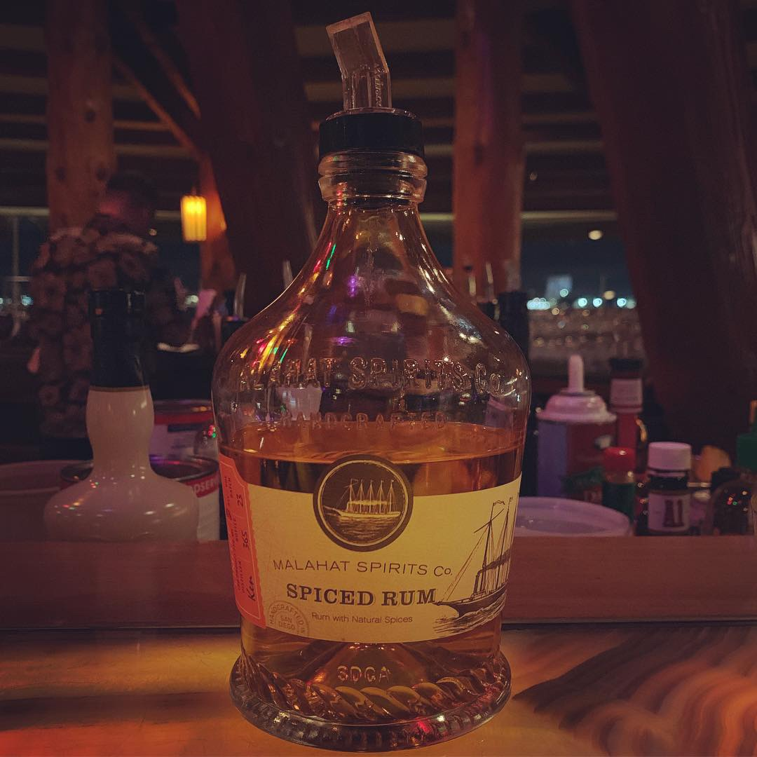 a delicious spiced rum made by a local San Diego distillery