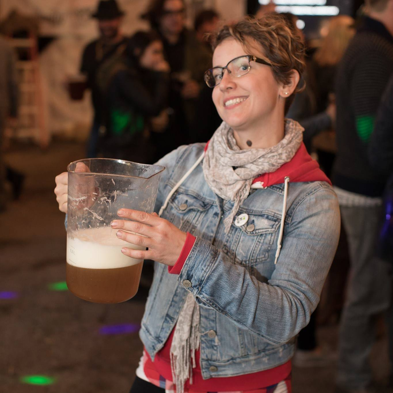 Alex Szaflarska - Alex is a worker-owner of Together We're Bitter Co-operative Brewing and co-organizer of Craftoberfest. In her other life, she is a PhD student focusing on alternative governance models in conservation. Her favourite meal is breakfast.