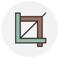 T square and L bracket representing schematic design