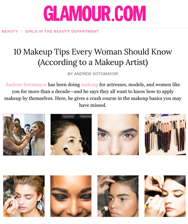 Glamour's Lipstick.com: 10 Makeup Tips Every Woman Should Know (According to a Makeup Artist)