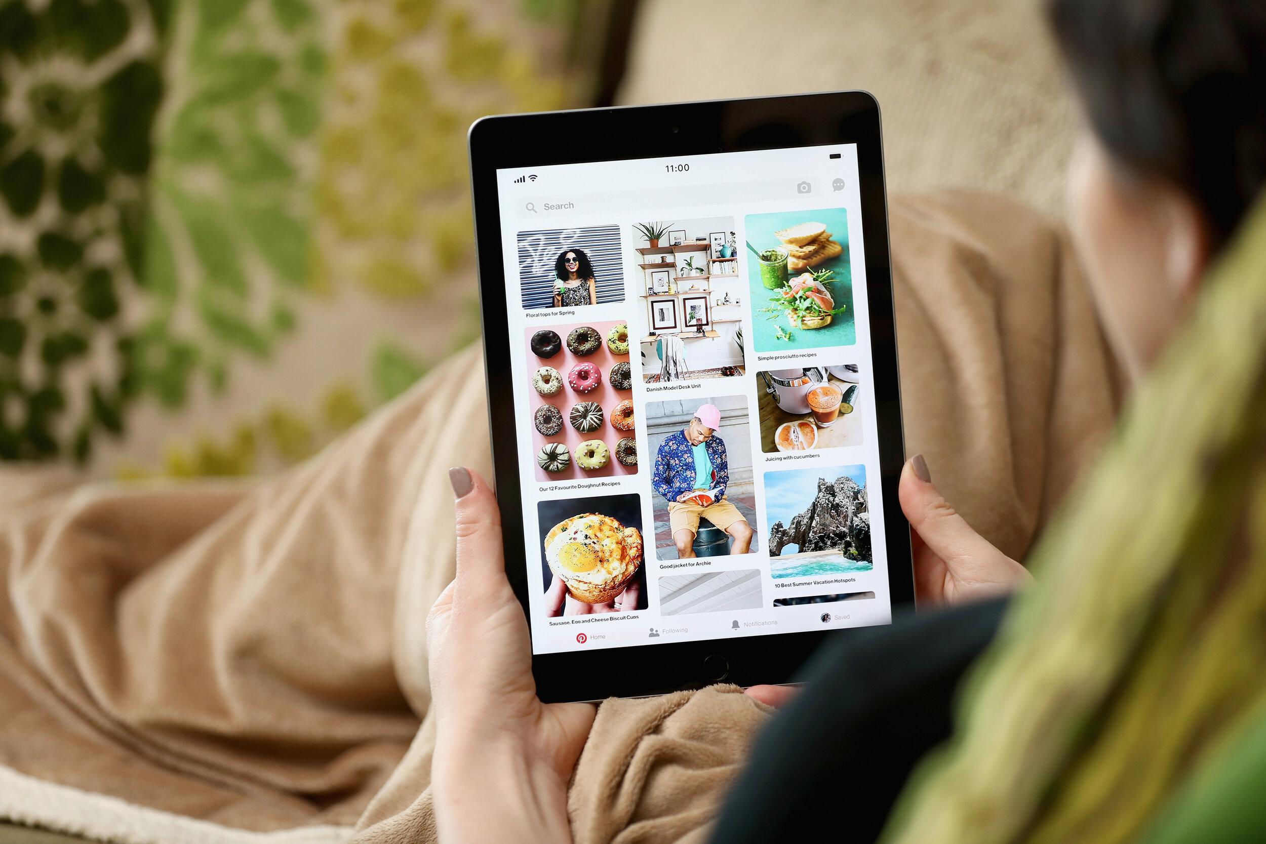 iPad home feed.JPG