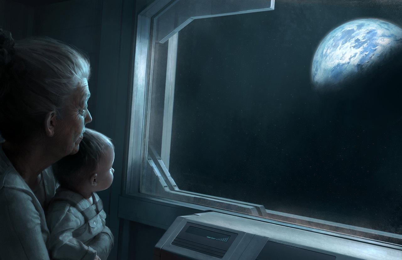 Grandma , by chasestone