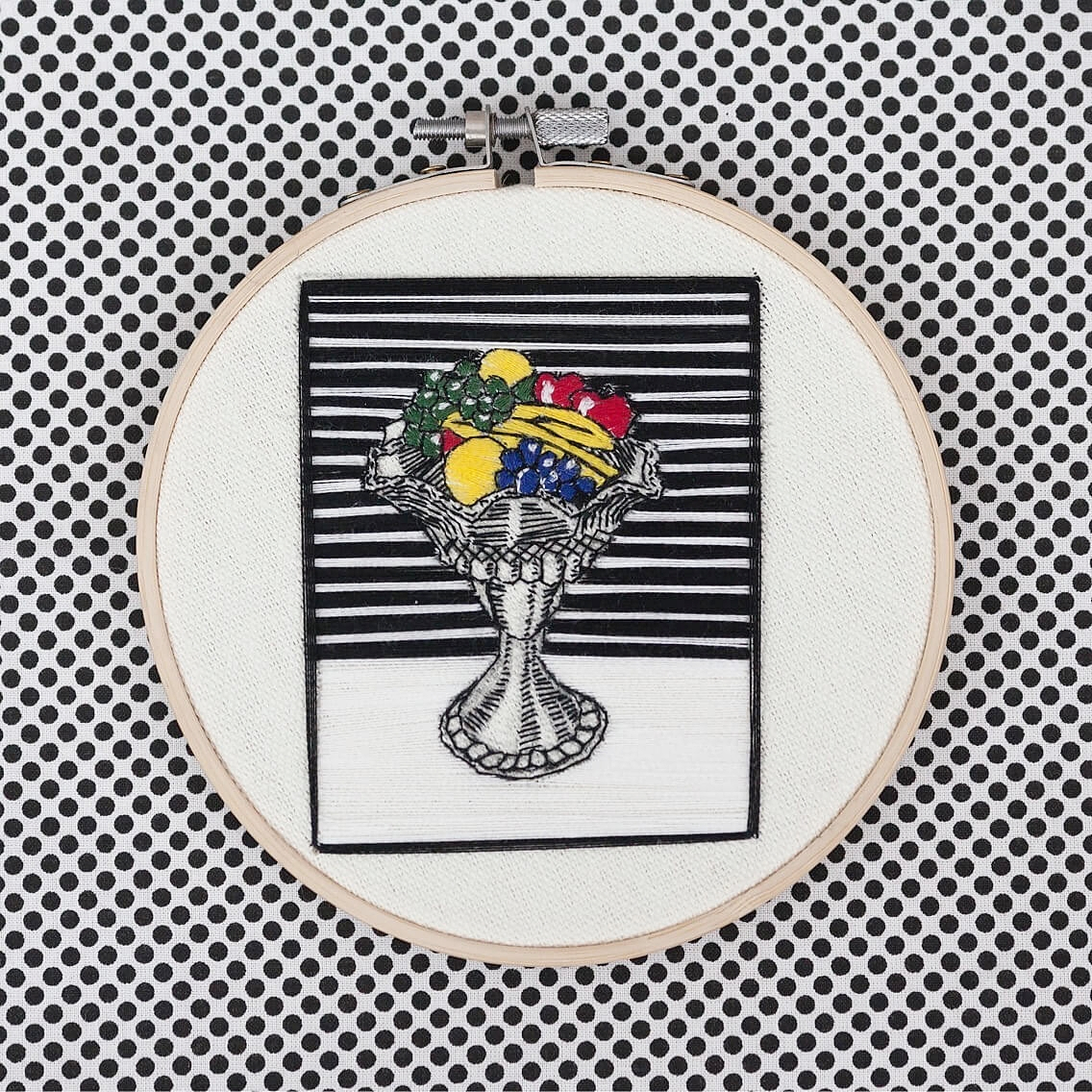 Roy Lichtenstein, Still Life with Crystal Bowl, 1973