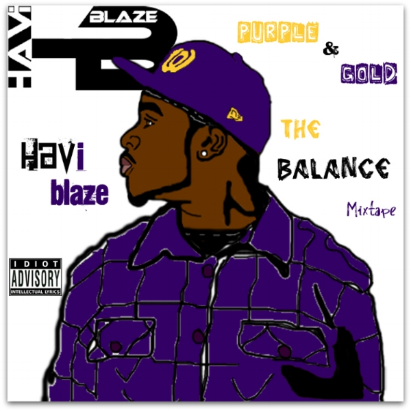 Purple & Gold: The Balance (Mixtape) -