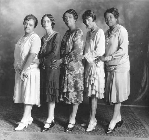 The Marvelous Women of North Carolina Mutual   [photo: Pauli Murray Project]