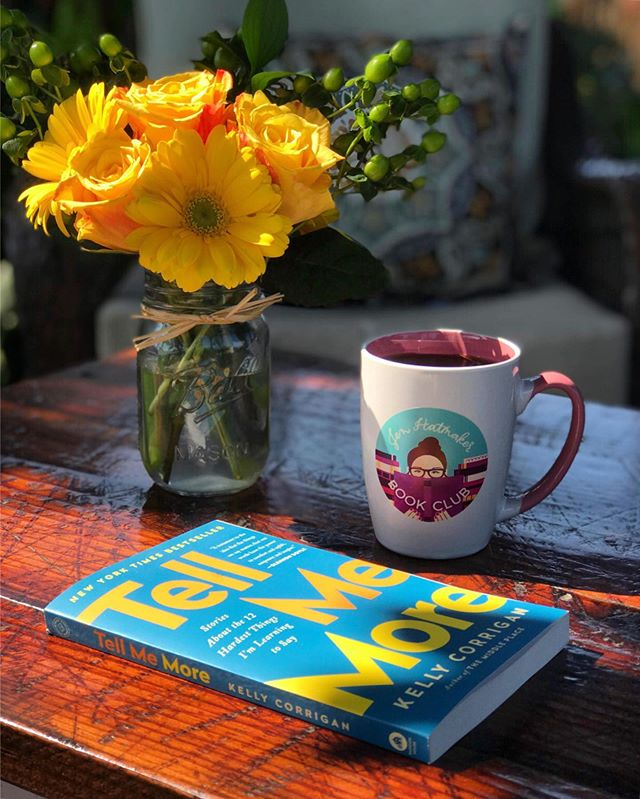"#happyplace  Enjoying some quiet time outside with my new book club goodies from @jenhatmaker and reflecting on my time here on bookstagram. I had no idea when I started this account two and half years ago that I would meet so many amazing, insanely smart and passionate people who loved books as much as I do.  I am so grateful for this space and the people I have ""met"" here and I wanted to take a moment and say thank you.  Thank you for all the interactions, the comments, the laughs, the thought provoking reviews and discussions, the words of encouragement, and for the incredible creativity that is everywhere on this platform.  You inspire me, you push me to be better, and you are a constant source of light in a time where there is so much ugliness and negativity. • • I would love to spread a little kindness today, so if there is someone you want to encourage or thank or just want to drop a line to let them know that you are thinking of them, please do so in the comments!"