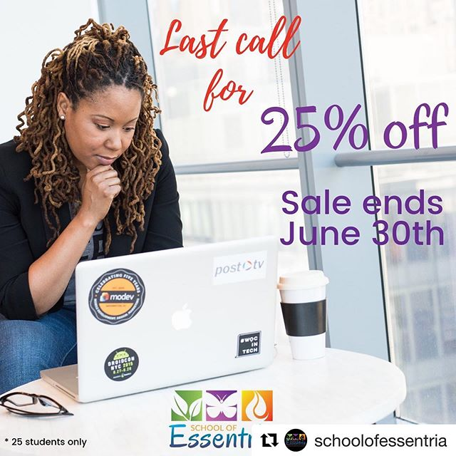 @schoolofessentria ・・・ PSSST THATS TOMORROW‼‼⠀ ⠀ Last call 😯⠀ ⠀ It's ending ❌ tomorrow night! June 30th⠀ ⠀ Get in there, time ⏰ is UP at midnight 🕛.⠀ ⠀ Getting certified 📜 or just learning all the oily goodness from a reputable accredited source has never been easier 🤗 or cheaper.⠀ ⠀ We can't wait to learn with you 😁⠀ ⠀ https://buff.ly/2XsTx6r⠀ ⠀ Enter Coupon Code (at both checkouts): aromatherapy25 to claim your 25% off now. ⠀ ⠀ #sale #aromatherapy #aromatherapyschool #lavender #essentialoil #learnaromatherapy #aromatherapycourses #aromatherapytraining #essentria #expertknowledge #EssentialOilSafety #EssentialOils #schoolofessentria #essentialoils #botanicalbeauty #essentialoil #herbalmedicine #plantmedicine #plants #botany #aromatherapist #aromatherapyrecipes #aromaticstudies #beyondaromatics #certifiedaromatherapist #aromatherapy #carrieroil #pomegranate #pomegranateseedoil