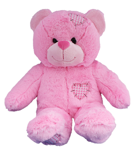 Pinky Bear - Ultrasound Heartbeat Buddy