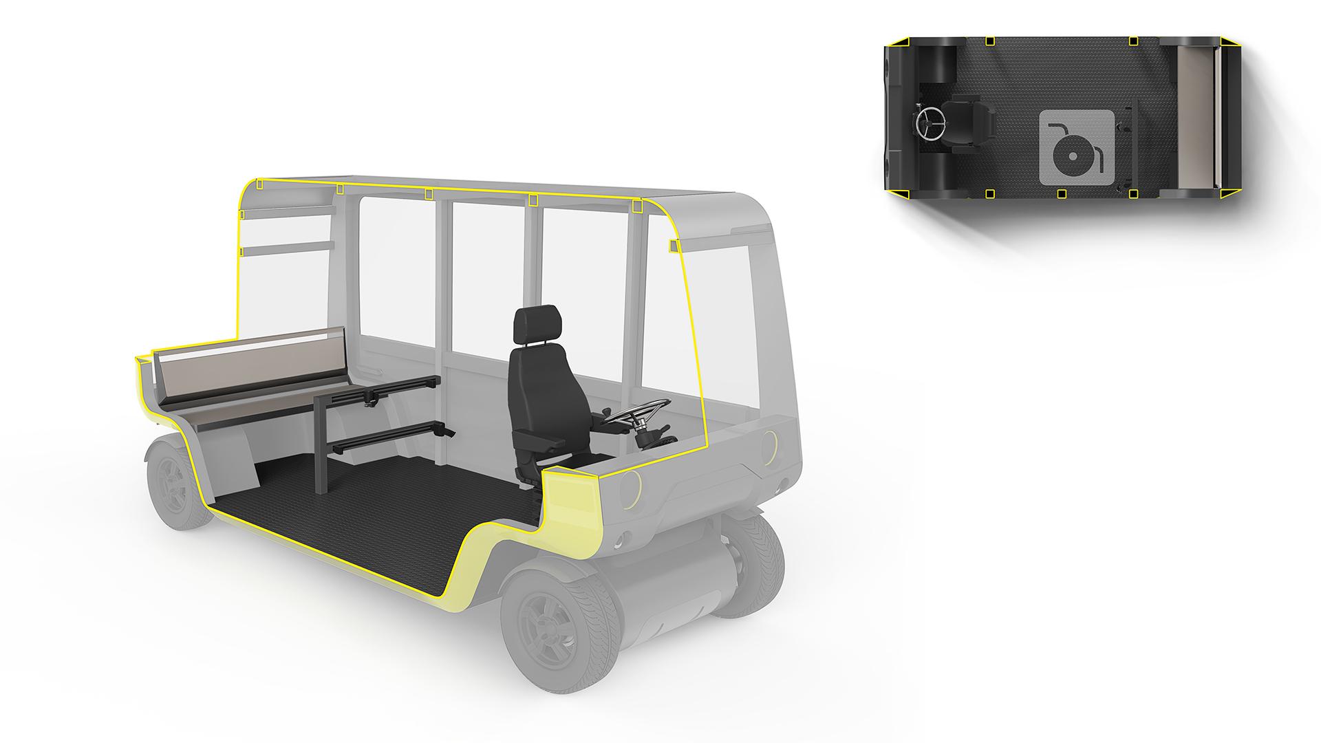 barrier free interior