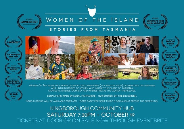 Only a couple of weeks left to grab your tickets to the Kingston screening of all our films, together with food vans and coffee, with some music (great community vibe). Food starts at 6pm / Films start at 7:30pm Tickets $12 - please share with the family and friends who are not on Insta as we would love these films to reach a wider audience. https://www.eventbrite.com.au/e/women-of-the-island-kingston-screening-tickets-71447588661. #probablytoosmalltoread #sorry #neededapic