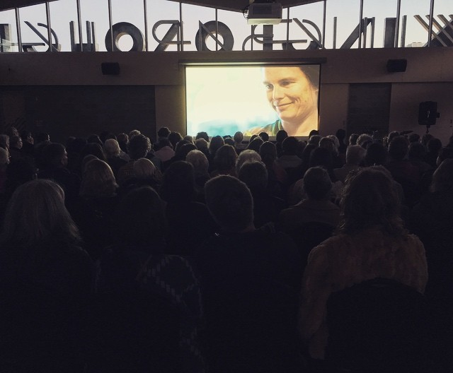 A gorgeous full house at Kingborough Community Hub tonight. Thank you so much to everyone who came along to share in these stories. 😍 #Tasmania #inspirationalwomen #womeninfilm