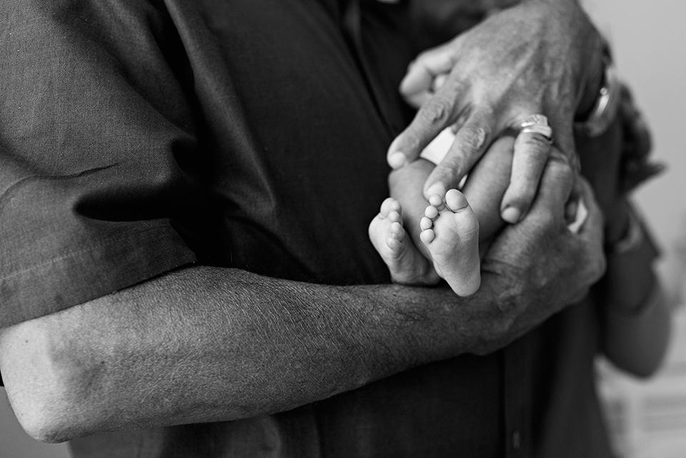 grandparent holding newborn southington connecticut newborn photographer