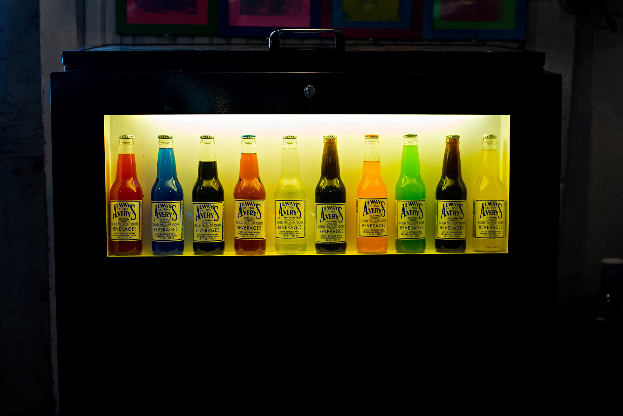 display of averys soda new britain connecticut family photographer