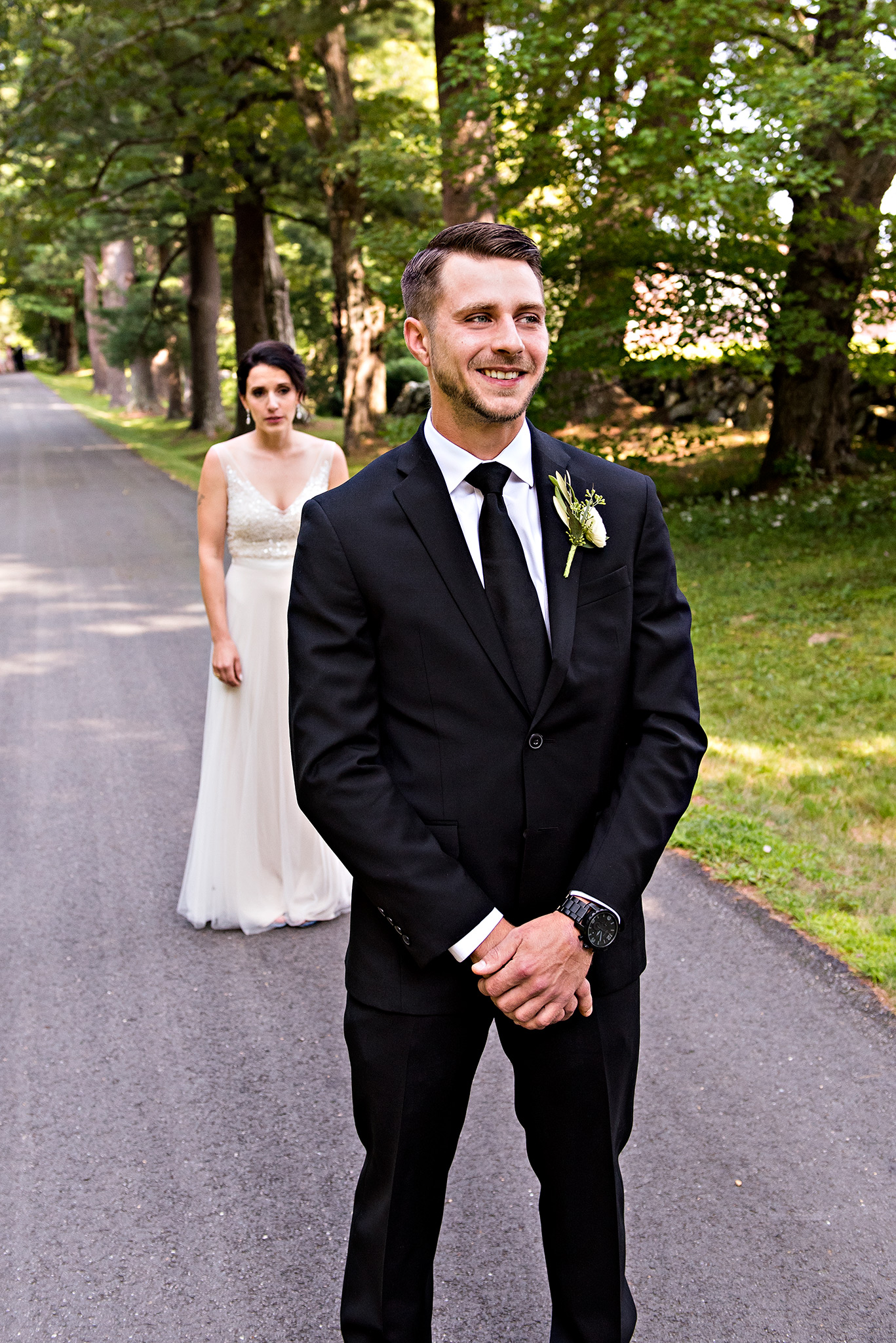 first look wedding photography connecticut. ct wedding photographer