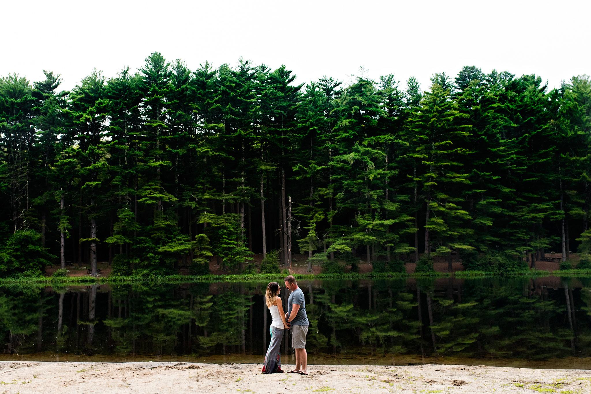 woodland elopement photography ct, wedding anniversary photographer ct