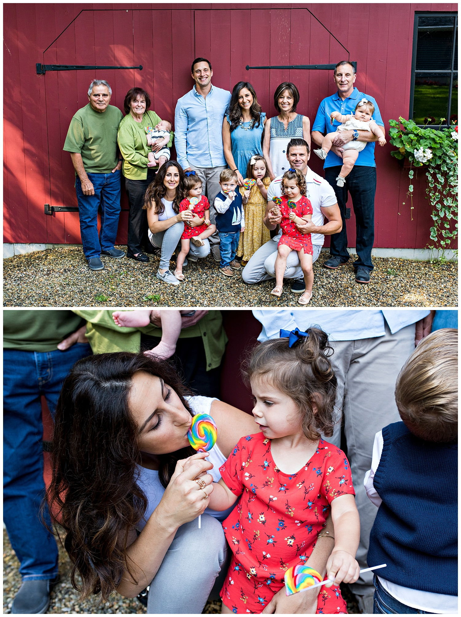 extended family photography session in fairfield county connecticut