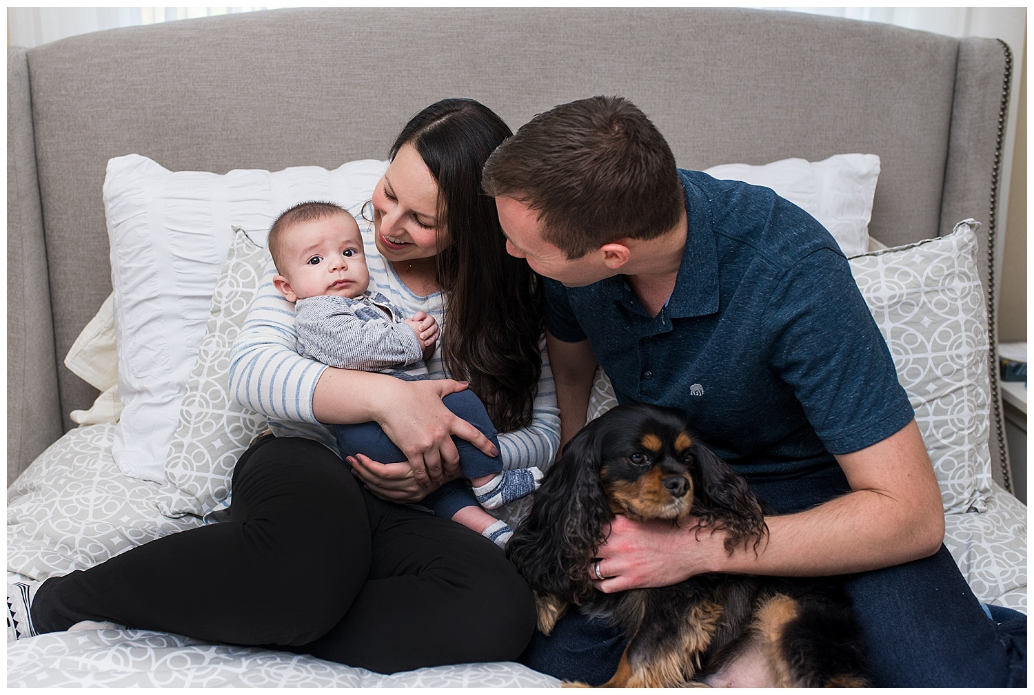 connecticut family photography with pets in glastonbury, ct