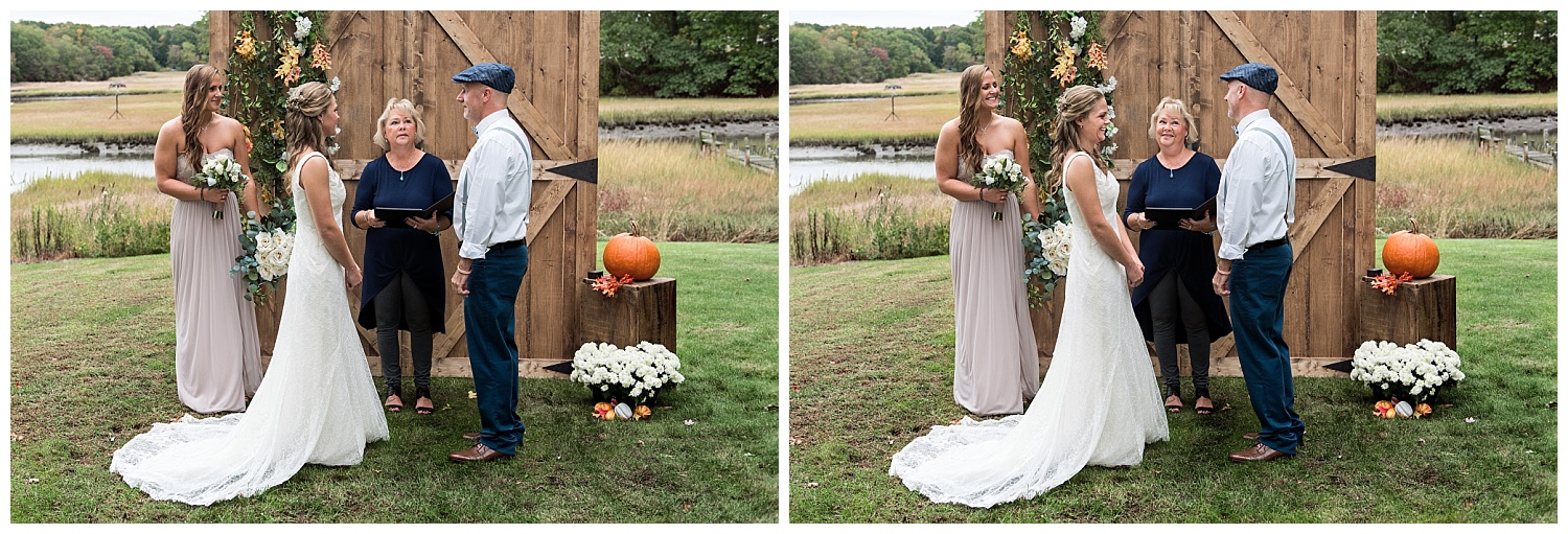 intimate backyard wedding photography in connecticut