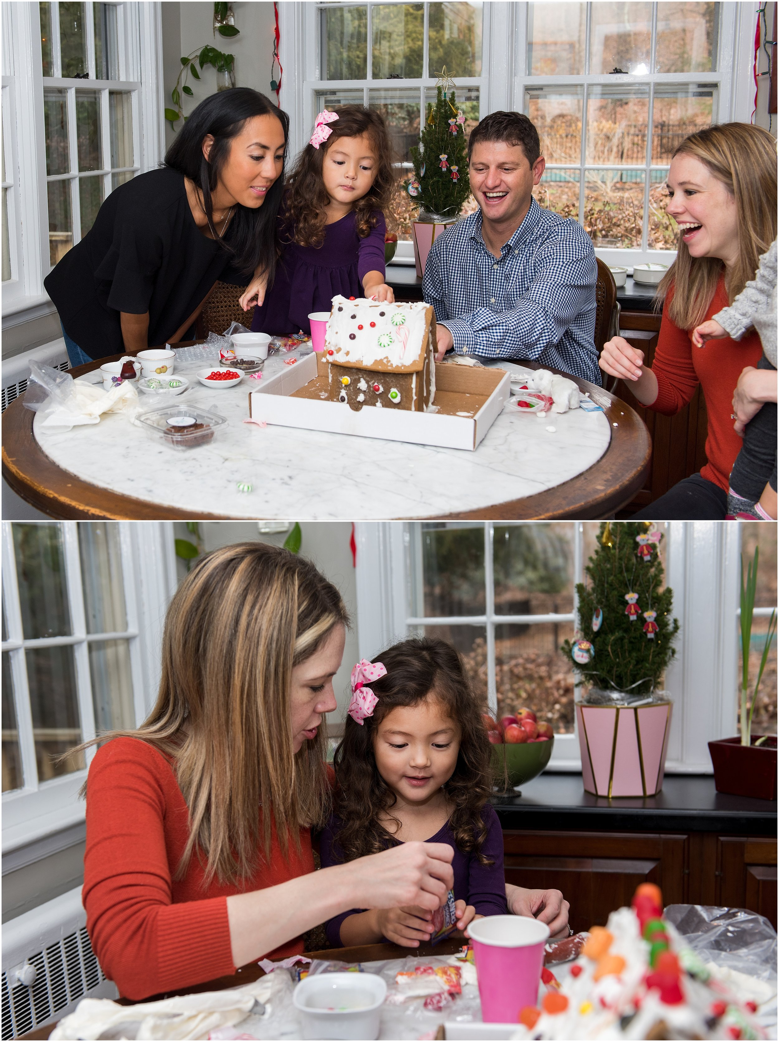 new haven county, ct family photography christmas time