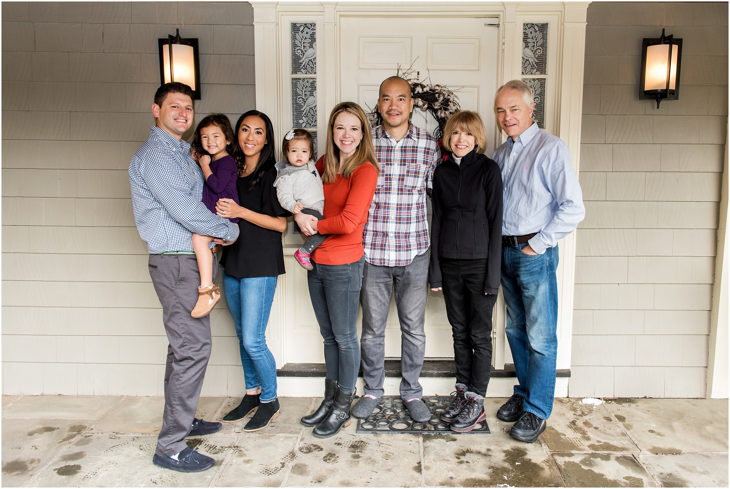extended family photography session in new haven county, ct