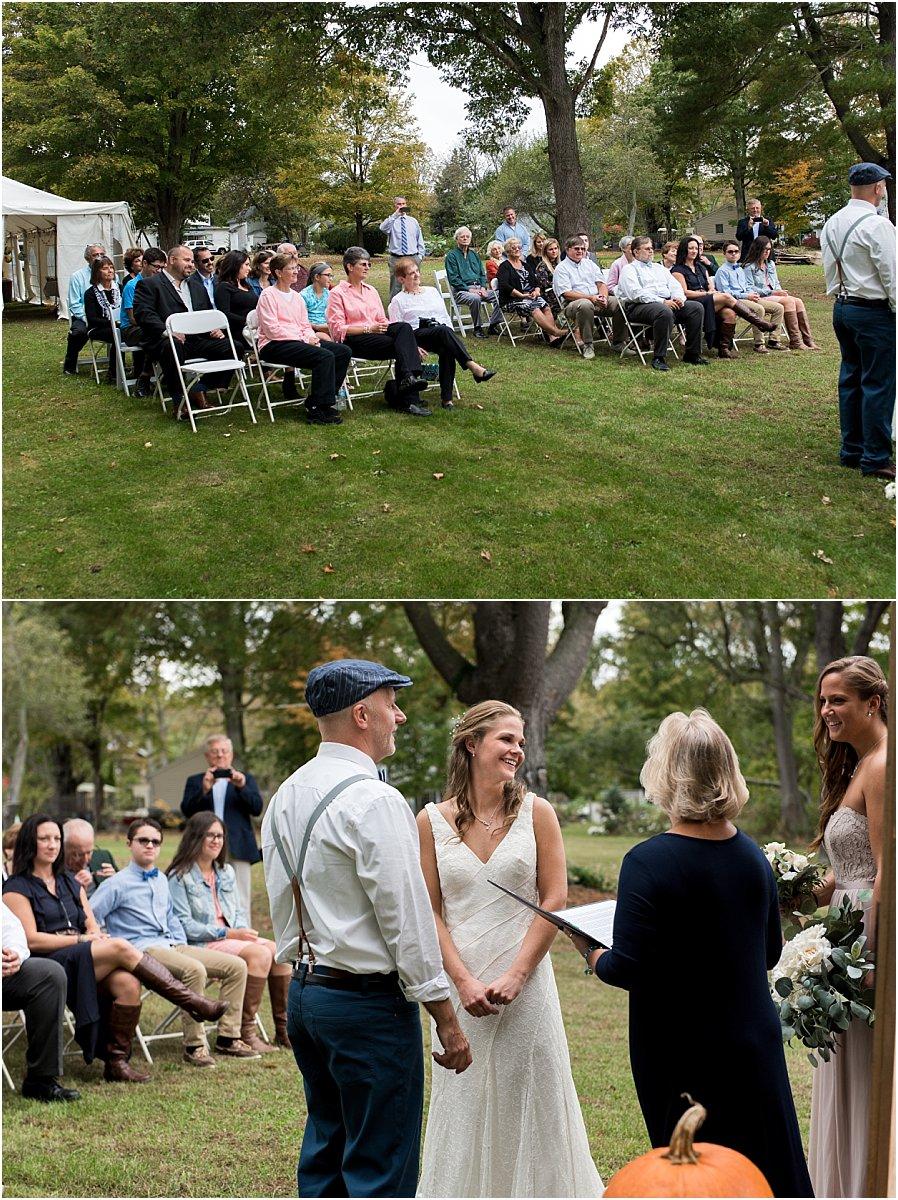 intimate backyard wedding tips