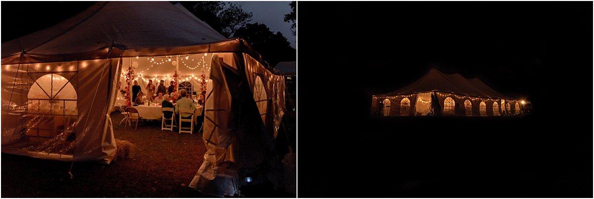 outdoor lighting tips for backyard weddings