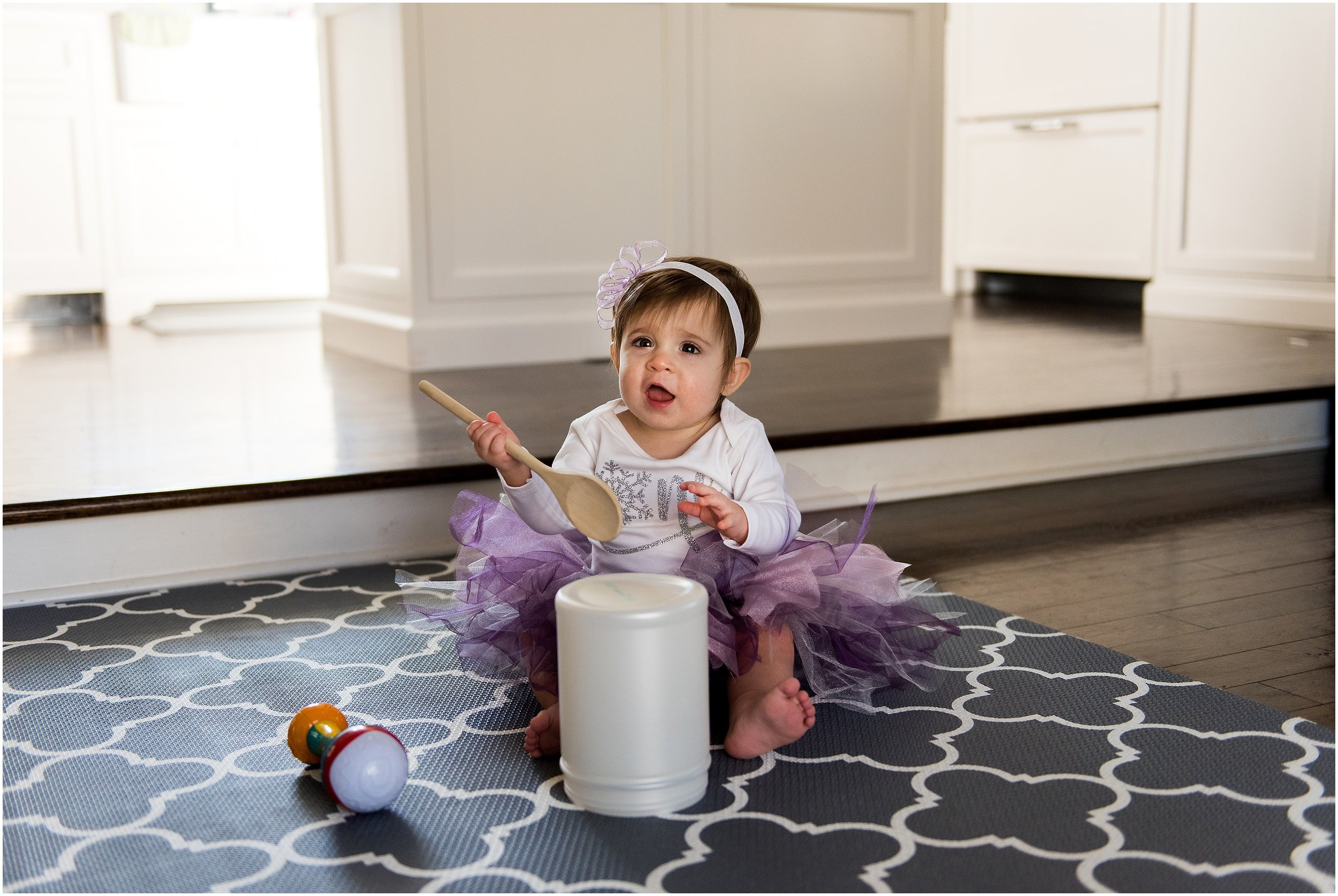 connecticut baby photography. baby girl in purple tutu