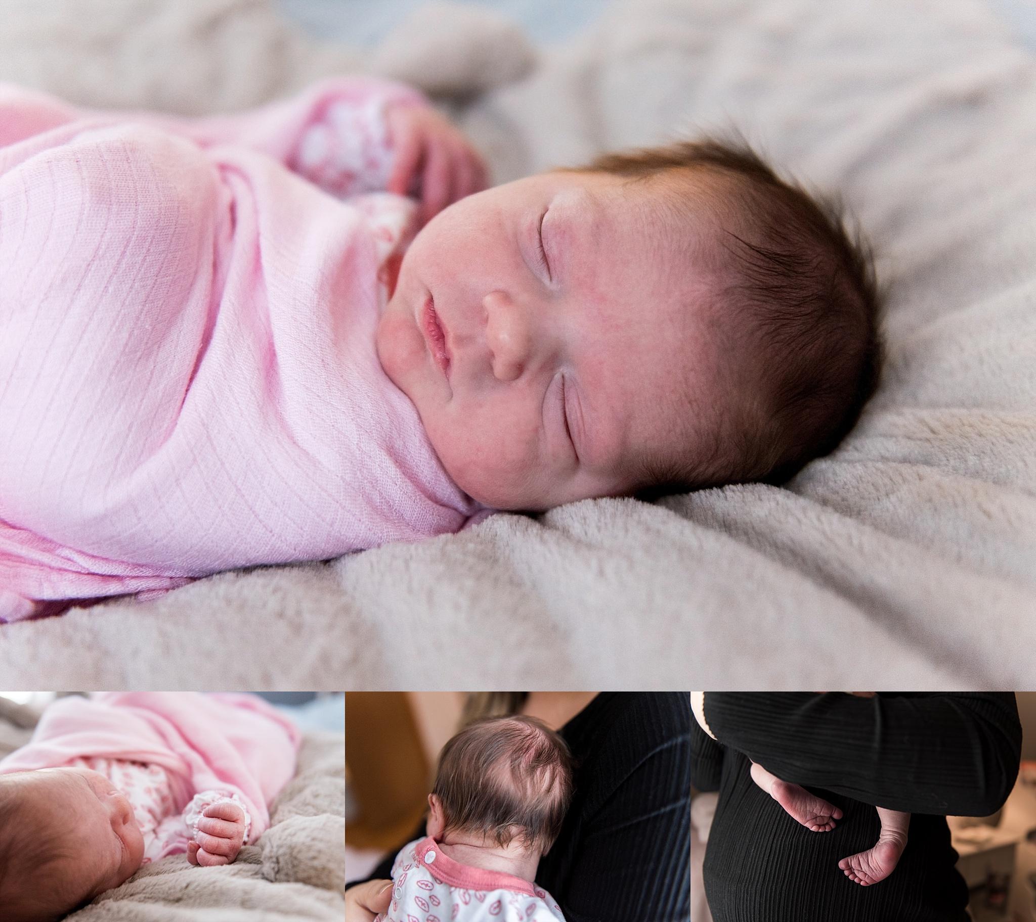 baby girl. ct newborn photographer