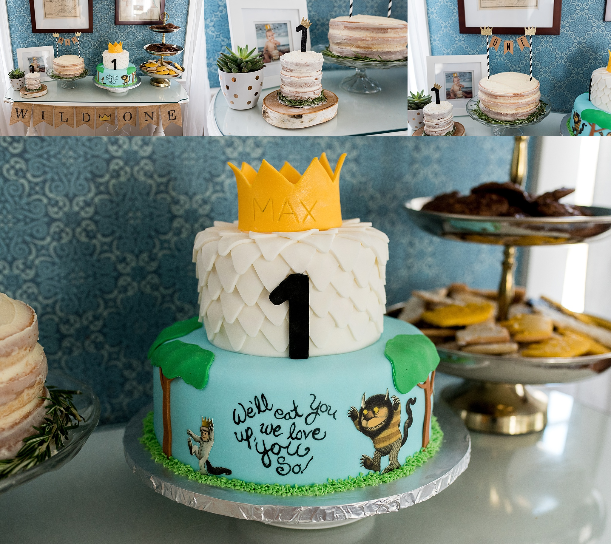 1st birthday party cake ct