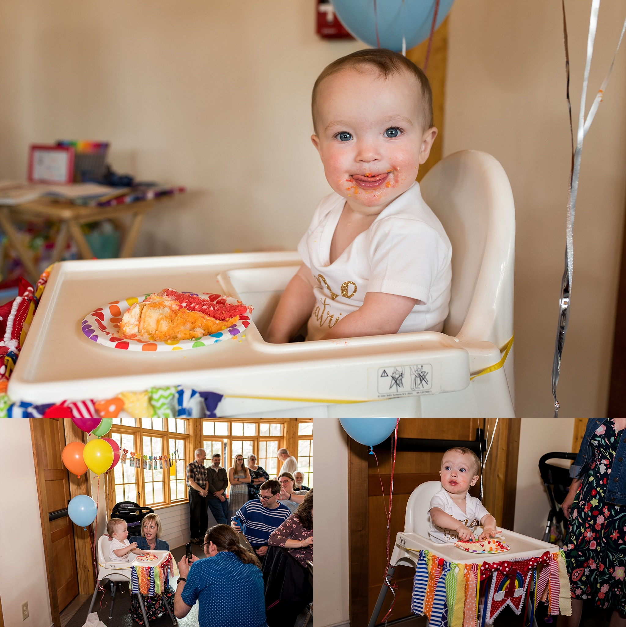 first birthday party at bushnell park in hartford, ct