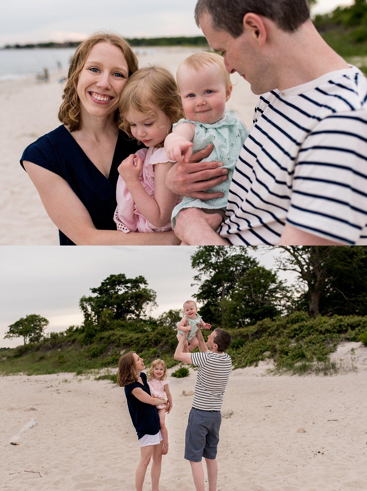 connecticut beach photographer. ct family photography on the beach