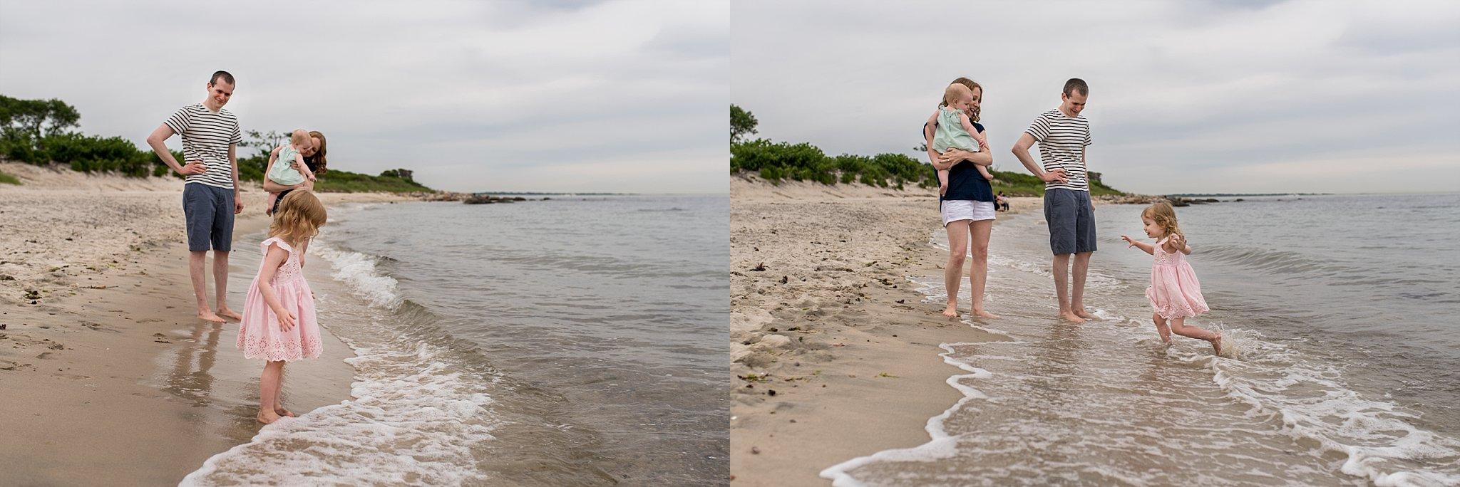 family beach photographer ct