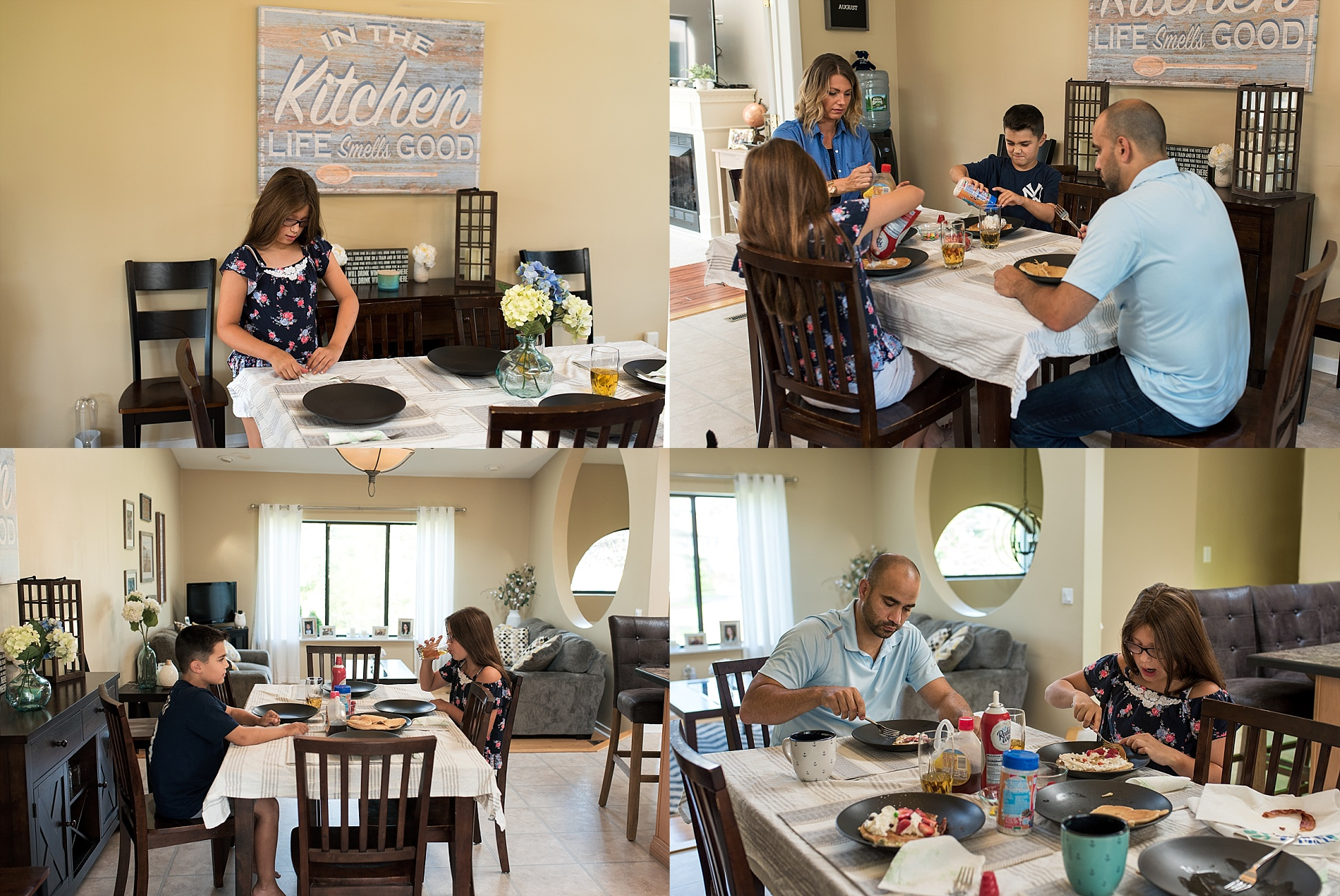 lifestyle photography at home in connecticut