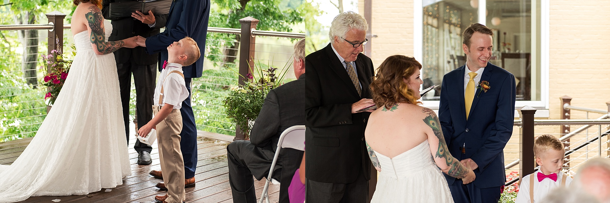 intimate wedding ceremony photography ct