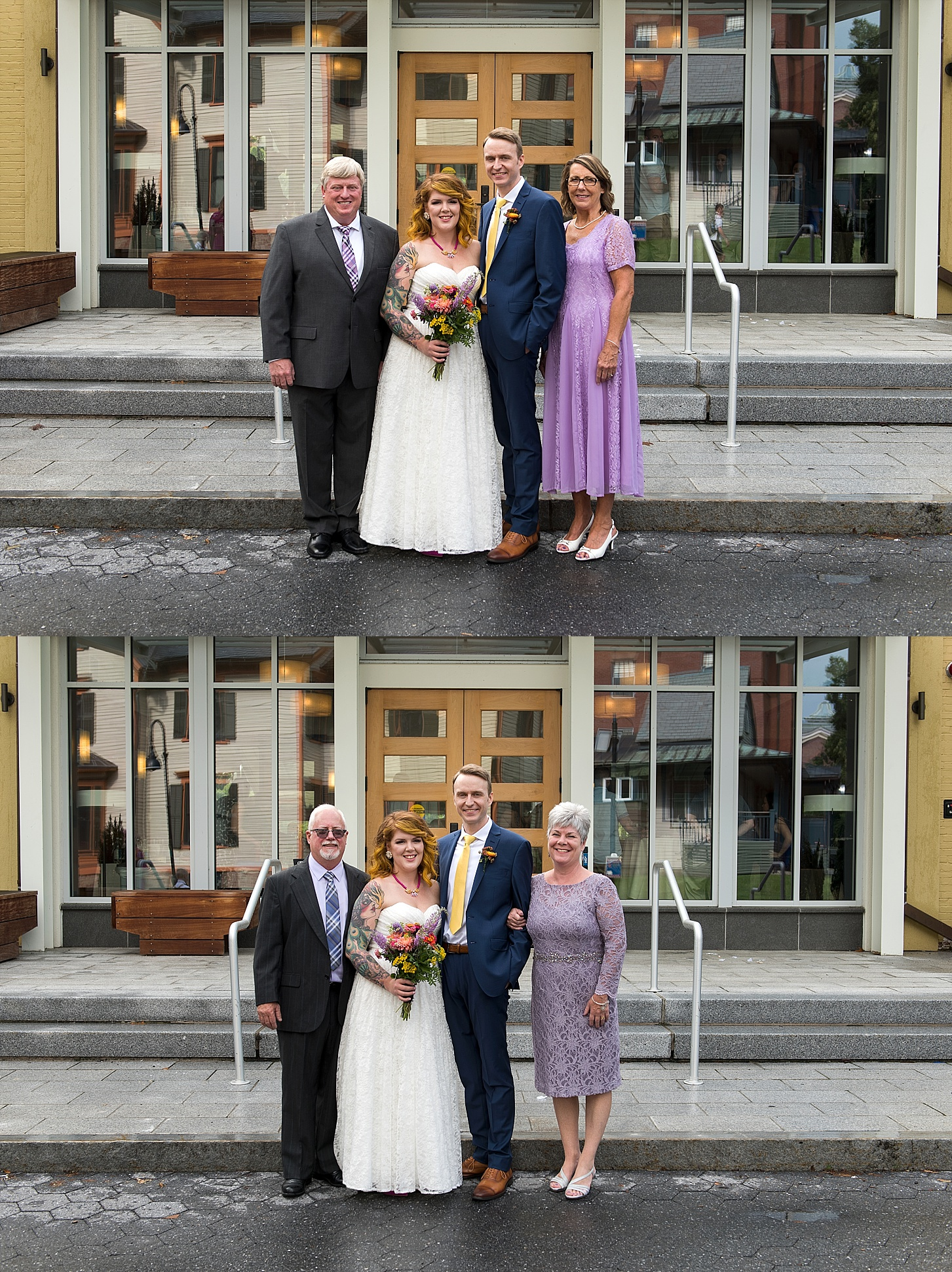candid family formals ct wedding photographer