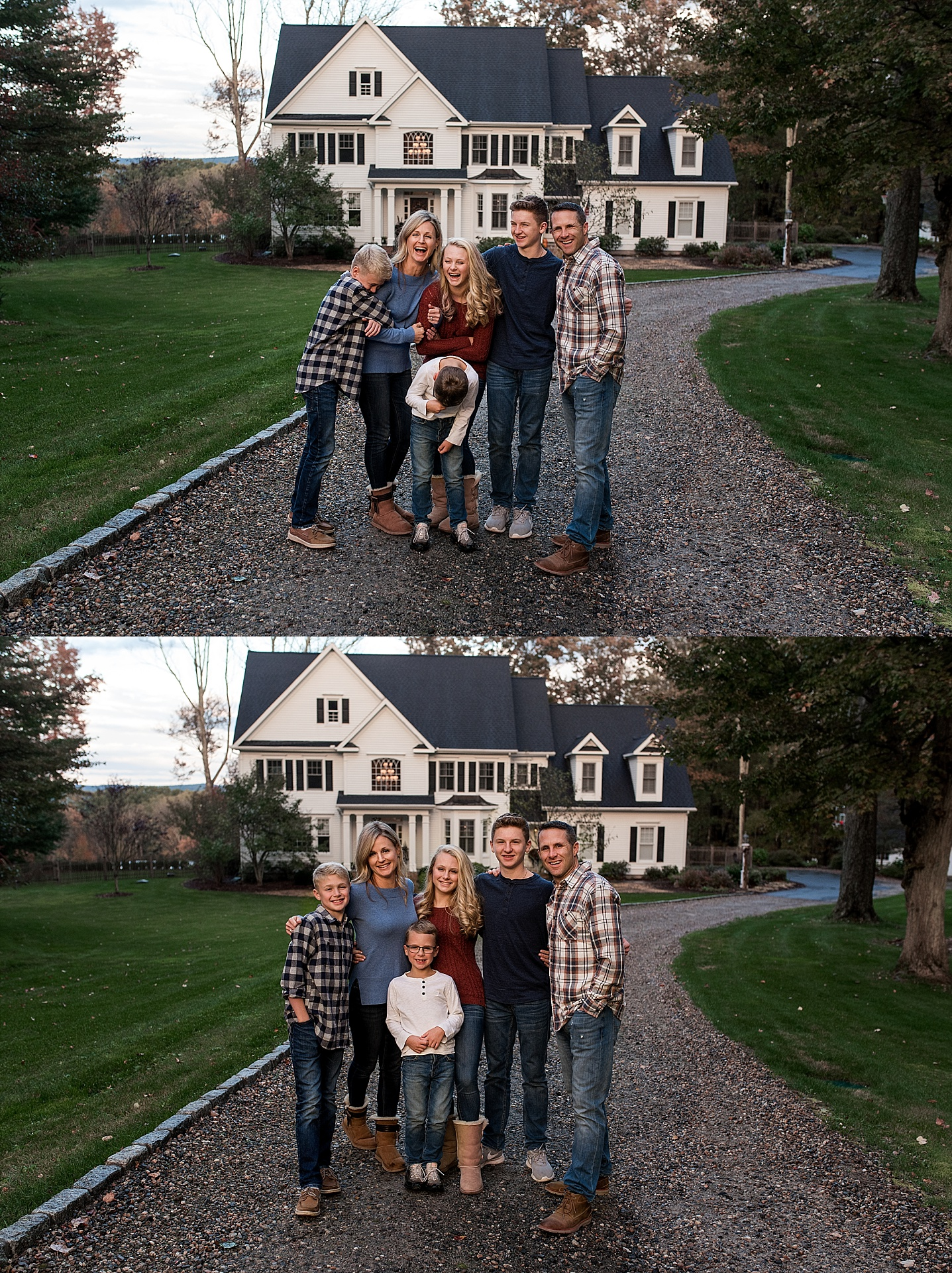 litchfield county photography, at home family photo session