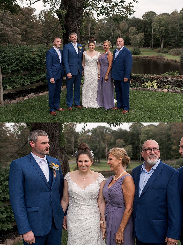 wedding day family formals. ct wedding photographer