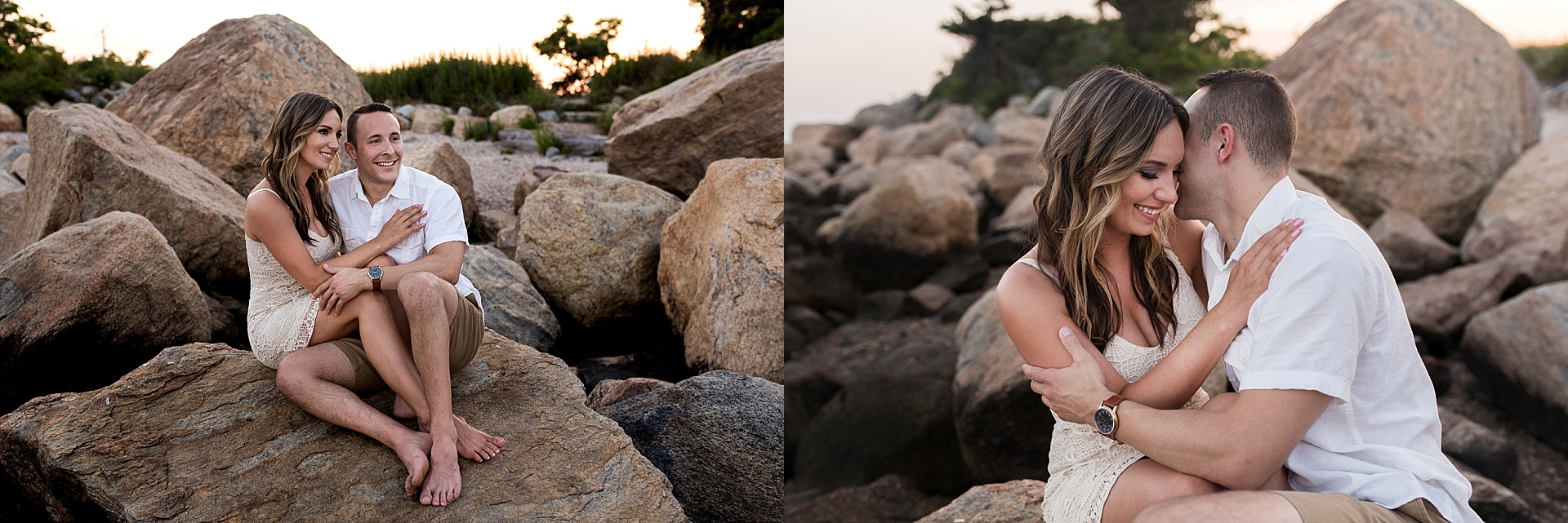 connecticut wedding photography at the shore