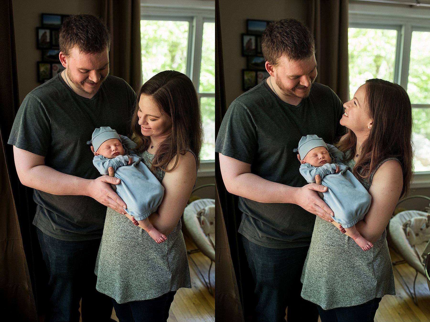 connecticut newborn family portraits