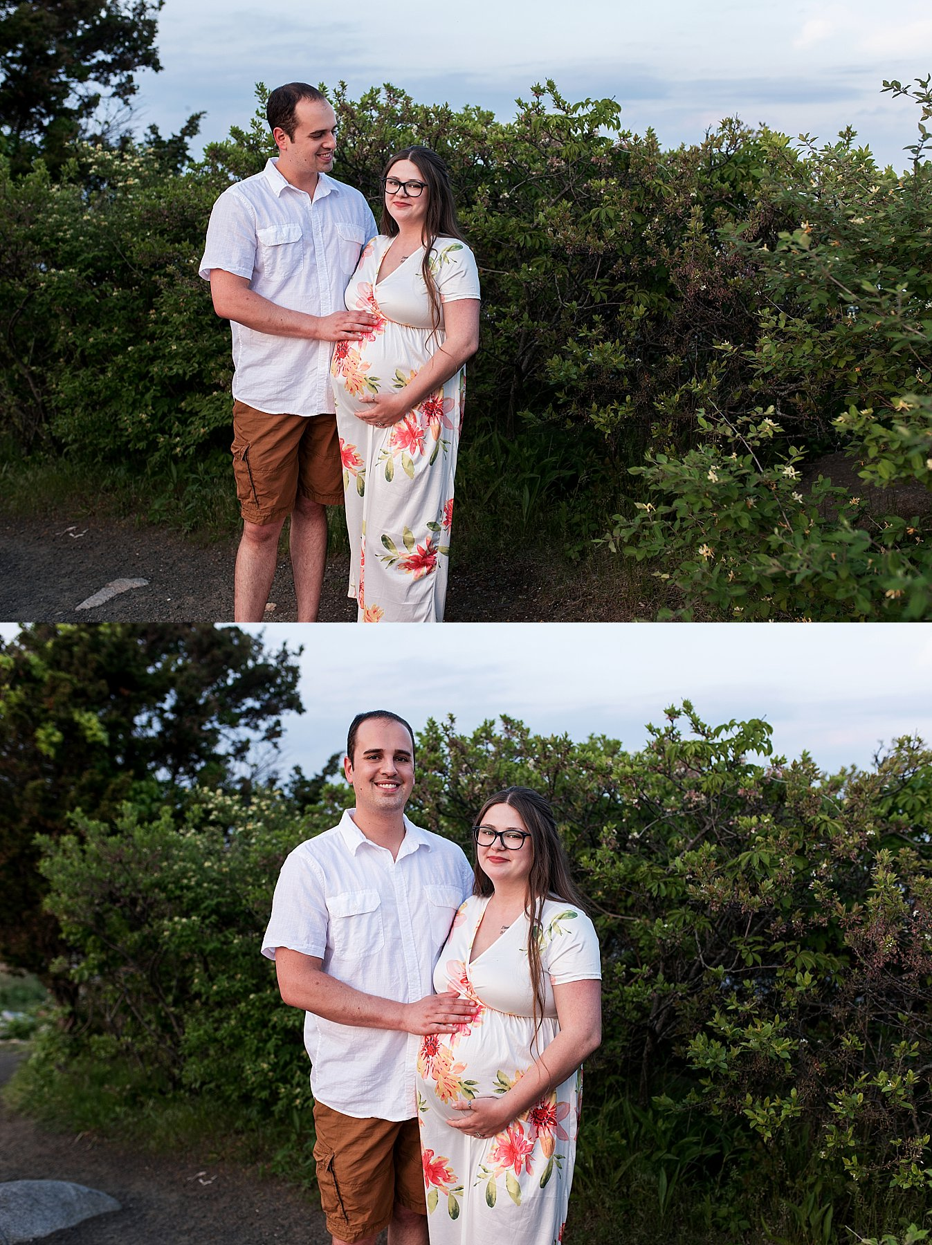 maternity photography on the beach in madision, CT
