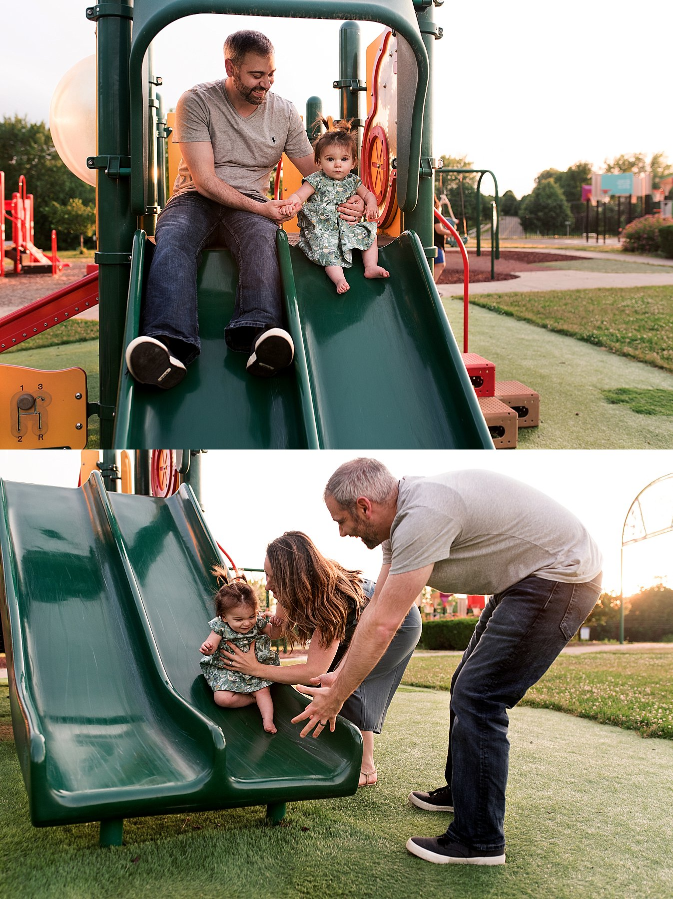 family photography at the park