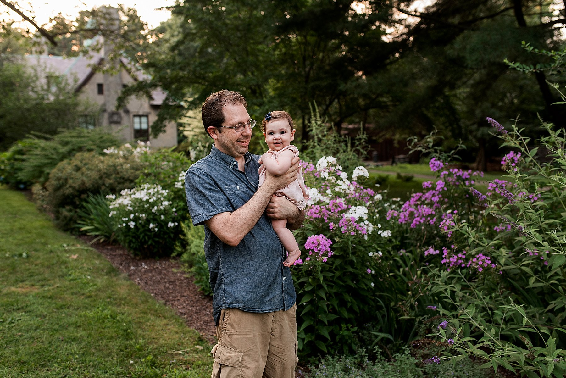 daddy and daughter portraits in Connecticut